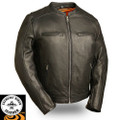 High Roller FIM230NOCZ Leather Motorcycle jacket | First Manufacturing