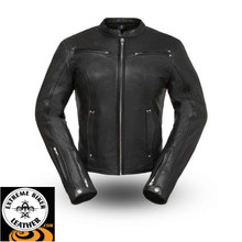 Speed Queen FIL158CLMZ Ladies Motorcycle Jacket | First Manufacturing