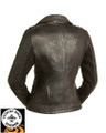 Iris FIL184CJ Ladies Leather Motorcycle Jacket First Manufacturing