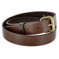 "PB320 P&B Harness Plain Brown 1 1/4"" Belt"