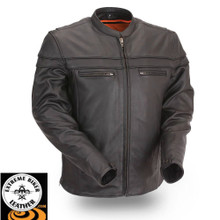 Maverick FIM262NTCZ  Men's Sporty Scooter Jacket | First Manufacturing