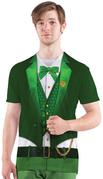 Faux Real Lucky Leprechaun - Model Front View