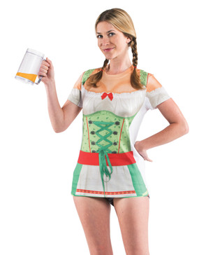 Faux Real Ladies' Oktoberfest - Front View