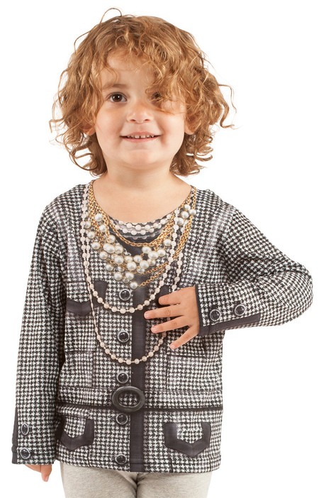 Faux Real Toddler Houndstooth Jacket - Model Front View