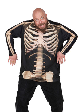 Big Size Skeleton T-Shirt