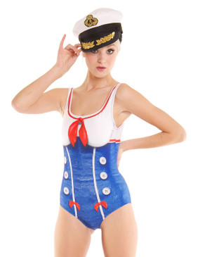 Sailor Girl Swimsuit