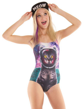 Galactic Cat Swimsuit