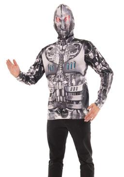 Robot Mask Hoodie