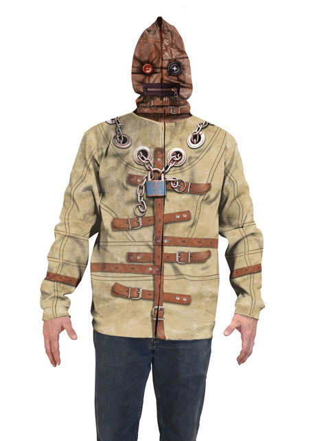 Straight Jacket Mask Hoodie - Faux Real
