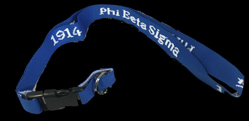 Phi Beta Sigma Fraternity Lanyard Brothers And Sisters