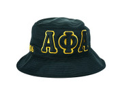 Alpha Phi Alpha Fraternity Founding Year Floppy Mesh Bucket Hat