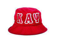 Kappa Alpha Psi Fraternity Founding Year Floppy Mesh Bucket Hat