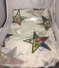 Order of the Eastern Star OES Extra Large Scarf