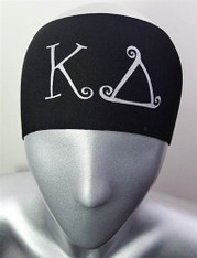 Kappa Delta Sorority Greek Letter Head band