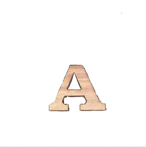 "0.75 "" Single Wood Letter"