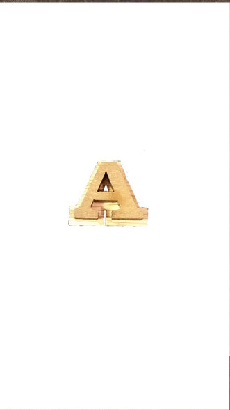 "0.75 "" Double Wood Letter"