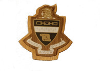 Kappa Alpha Theta Raised Wood Crest