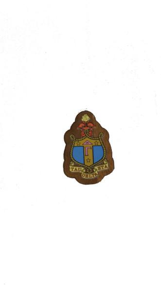 Delta Gamma Sorority Mini Wood Crest