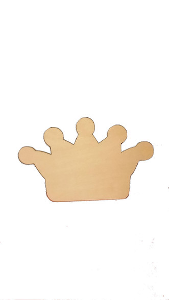 Five Pointed Crown Symbol Board