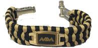 Alpha Phi Alpha Fraternity Survival Paracord Bracelet