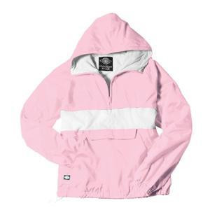 Sorority Anorak-Pink/White
