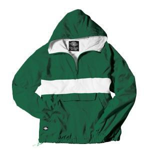 Sorority Anorak-Green/White