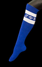 Zeta Phi Beta Sorority Knee High Socks