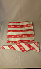 Kappa Alpha Psi Fraternity Bow Tie and Pocket Square Set- Red/White