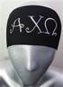 Alpha Chi Omega Sorority Greek Letter Head Band