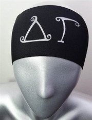 Delta Gamma Sorority Greek Letter Head Band