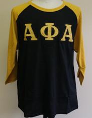 Alpha Phi Alpha Fraternity Baseball Shirt
