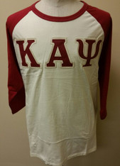 Kappa Alpha Psi Fraternity Baseball Shirt