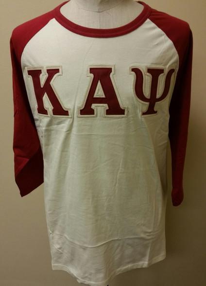 Kappa Alpha Psi Fraternity Baseball Shirt