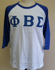 Phi Beta Sigma Fraternity Baseball Shirt
