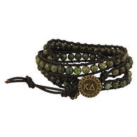 Kappa Delta Sorority Triple Wrap Bracelet