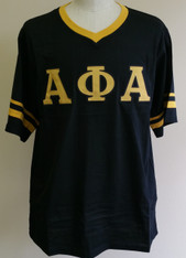 Alpha Phi Alpha Fraternity V-Neck with Striped Sleeves