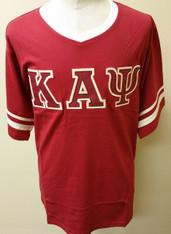 Kappa Alpha Psi Fraternity V-Neck with Striped Sleeves