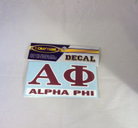 Alpha Phi Sorority Decal