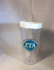 Zeta Tau Alpha ZTA Sorority Tumbler