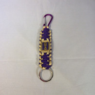 Omega Psi Phi Fraternity Paracord Key Chain