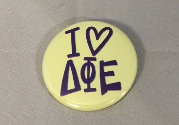 Delta Phi Epsilon DPHIE Sorority- I Heart- Small