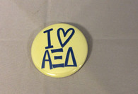 Alpha Xi Delta Sorority- I Heart- Small