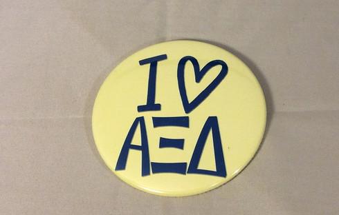 Alpha Xi Delta Sorority- I Heart- Large