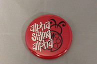 Alpha Sigma Alpha Sorority- Symbol Button-Small