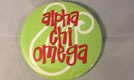 Alpha Chi Omega Sorority- Symbol Button-Large