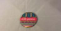 Delta Gamma Sorority Tribal Print Button- Small
