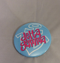 Delta Gamma Sorority Symbol Button- Large