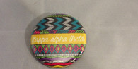 Kappa Alpha Theta Sorority Tribal Print Button- Small