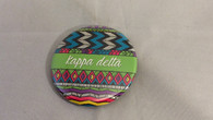 Kappa Delta Sorority Tribal Print Button- Small