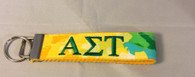 Alpha Sigma Tau Sorority Key Fob